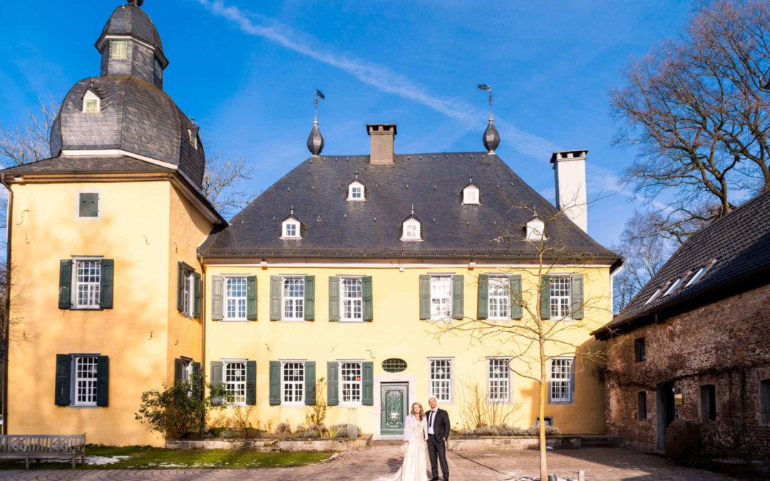 Heiraten in Wuppertal auf Schloss Lüntenbeck